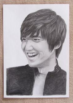 Lee Min Ho - Drawing