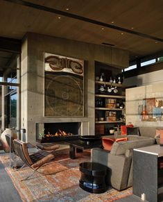 Breathtaking home nestled on a bluff overlooking Lake Washington