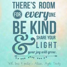 Be kind to all you meet ~ everyone has the own struggles ~ a little kindness can change someone's world xxx