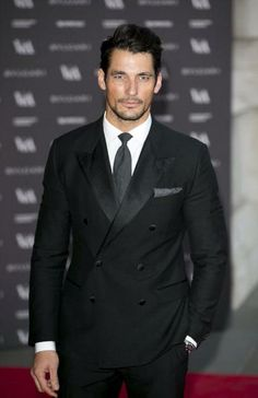 David Gandy at The Glamour of Italian Fashion Dinner at The Victoria & Albert Museum April 2014