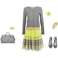 Yellow and grey, created by kandatucker