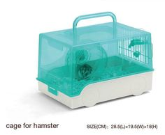 Large-Hamster-Carrier-Portable-cage-Gerbil-Rat-Mouse-Nest-House-Small-Animal