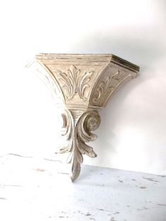 Vintage French Shabby chic Sconce. Shabby Bed by 3vintagehearts, $21.00