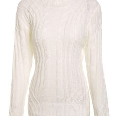 Elegant Turtleneck Twist Wave Solid Color Thick Pullover Sweater For Women  $43.00    Specification  Color: LAKE BLUE, WHITE  Size: S, M, L, XL  Category: Women > Sweaters & Cardigans     Type: Pullovers  Material: Polyester  Sleeve Length: Full  Collar: Turtleneck  Style: Fashion  Pattern Type: Solid  Season: Fall,Winter  Weight: 0.228kg  Package Contents: 1 x Sweater