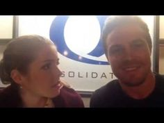 Stephen Amell and Emily Bett Rickards on Best On-Screen Chemistry