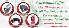 Christmas special - 20% off on FastPlot.