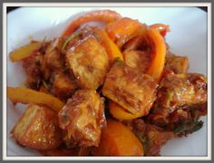 A Tribute to Cooking: Tofu Jalfrezi