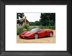 Ferrari Enzo Italy as Photographic Prints, Framed and Canvas Prints from Car Photo Library, Ferrari, The Car Photo Library
