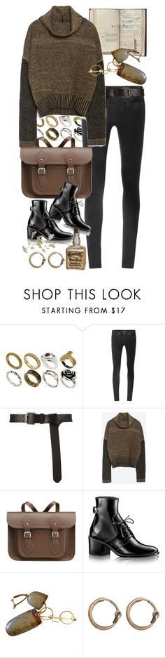 """Untitled #10873"" by nikka-phillips ❤ liked on Polyvore featuring ASOS, Helmut Lang, Zara, The Cambridge Satchel Company and Acne Studios"