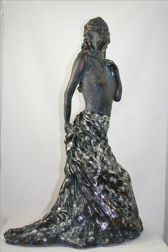 wrapped in elegance Earthenware Clay, Sculptures, Victorian, Elegant, Dresses, Fashion, Dapper Gentleman, Vestidos, Moda
