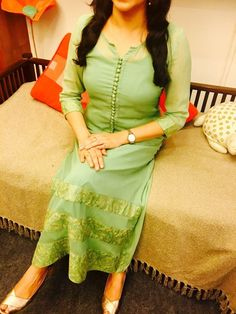 Light Mint Green Kurti