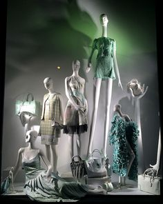 Bergdorf Goodman window display