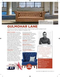 """When in doubt, go straight to The Source."" Architectural Digest India's, The Source, is meant to be a guide on everything that is involved in making your home. It offers a guide to most recognized brands in home design stores in India and Gulmohar Lane made it to the list. :) #architecturaldigest #thesource2016 #guide #homedecor #feature #gulmoharlane"
