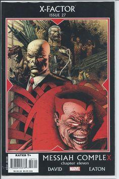 Marvel: X-Factor #27A (Messiah Complex #11: David, Eaton)