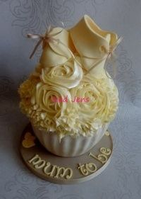 Image for Best Giant Cupcake Baby Shower Ideas