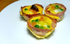 Vegetable eggs muffins