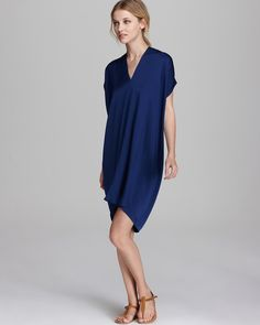 Vince Dress - Silk Georgette | Bloomingdales