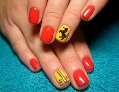 Ferrari nailart