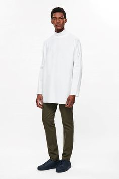COS | Oversized high-neck top