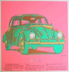 Volkswagen de Andy Warhol (1928-1987, United States)