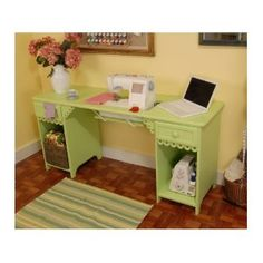 #10: Arrow 1004DL Olivia Pistachio Green Sewing Cabinet