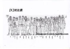 K Project Settei,Character Design,Suoh,Anna,anime,production artworks,character sheets,character design #Kproject #MikotoSuoh  #AnnaKushina  #Neko #yashiroisana  #kurohyatogami #settei