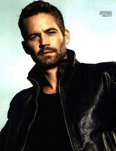 I can't believe he's gone.  Paul William Walker Born Sept. 12, 1973 - Died Nov. 30, 2013 (40) The Fast and the Furious, Pleasentville, Varsity Blues, She's All That, The Skulls, Joy Ride, Into the Blue