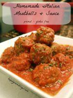 Homemade Italian Meatballs and Sauce (primal,gluten-free) Author:Adrienne Recipe type:Main Cuisine:Italian Prep time: 20 mins Cook time:...