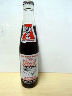 Vintage Coach Bear Bryant Coca Cola