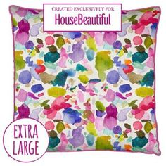 Feel good watercolour designs from bluebellgray. Bring colour and design into your life with modern and abstract floral bedding, cushions, fabric & home accessories by Scottish designer Fiona Douglas.