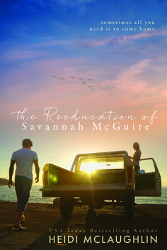 Cover Reveal:: The Reeducation Of Savannah McGuire by Heidi McLaughlin
