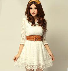 Skirt Length: short skirts (76-90 cm) Fabric: 30% nylon 70% cotton Lining: 97% polyester 3% spandex