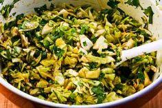 Recipe for Spicy Cilantro-Peanut Slaw [from KalynsKitchen.com]