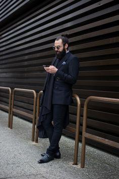 Pitti Uomo, Men's street style