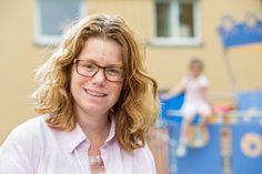 Marleen Schlüter, moeder van een dochter met een stofwisselingsziekte