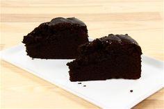 Svampet chokoladekage med kærnemælk
