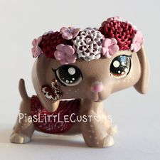 Find this Pin and more on my lps group. Lps Dachshund, Dachshund Clothes, Custom Lps, Dashund, Lps Accessories, Lps Toys, Lps Littlest Pet Shop, Crafts For Kids, Diy Crafts