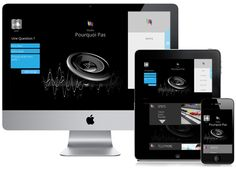 Site Responsive Design  http://www.studio-pourquoipas.com