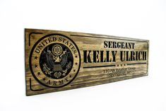 Military Sign-US Army-Navy Sign-Custom sign-Personalized Wood Sign-Veterans Day Gift-(CWD-218) Army & Navy, Us Army, Marine Corps Emblem, Military Signs, Deployment Gifts, Veterans Day Gifts, Personalized Wood Signs, Custom Wood, Marines