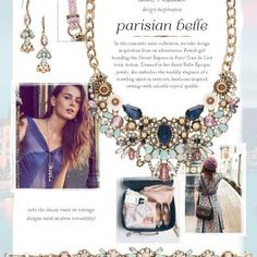 Discover the inspiration behind our Parisian Belle mini-collection!
