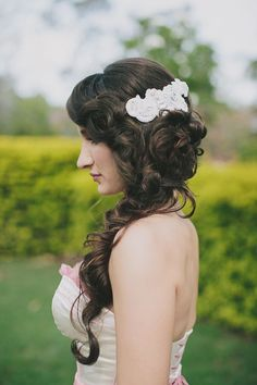 curly mermaid braid // photo by Shutter and Lace