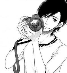 Yamato Kurosawa - Say 'I Love You' - Suki-tte ii na yo Manga Anime, Manga Boy, Hot Anime Guys, Anime Love, Snow White With The Red Hair, Black And White, Yamato Kurosawa, Vocaloid, Miyazono Kaori
