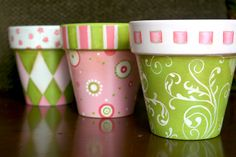 pretty little pots