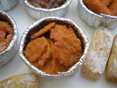 Filetes empanados - Las casitas de Narán