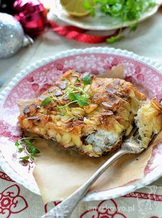 Karp w migdałach Pyszny karp w bardzo świątecznej odsłonie. Z delikatną i chrupiącą skórką z migdałów. Obowiązkowo na stole wigilij...