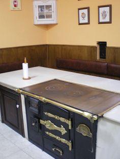 M s de 1000 ideas sobre mesas de cocina restauradas en - Cocinas de pueblo ...