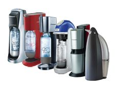 Soda Stream in your kitchen for making your own style of carbonated drink!