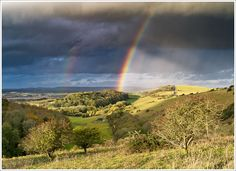 Storm over the Downs,taken by steve gascoinge-Available light photography