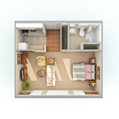 Efficiency Apartment Floor Plan floor plans for an in law apartment addition on your home - google