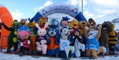 gara delle mascotte ad Artesina
